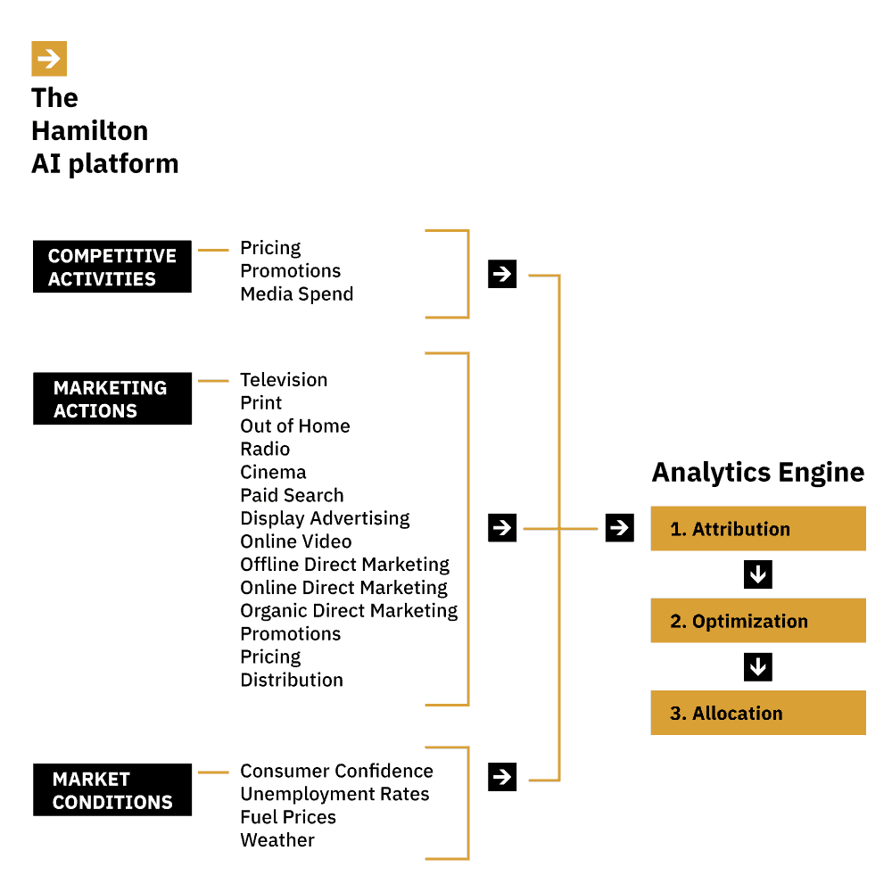 Hamilton AI marketing analytics software